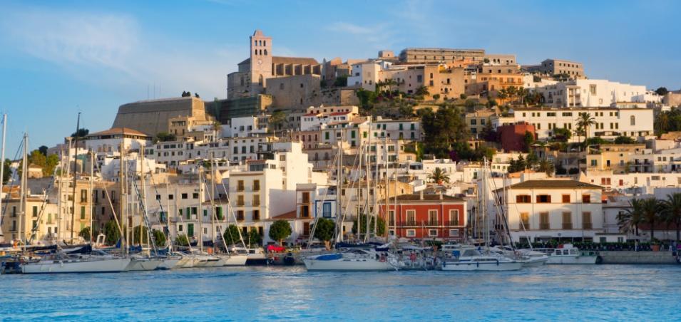 volare low cost Ibiza